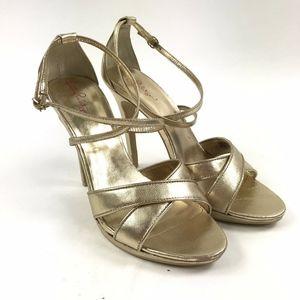 Lilly Pulitzer Strappy Stiletto High Heels Sz 9.5